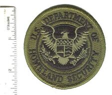 """Department of Homeland Security DHS 2.5"""" jungle woodland green cap hat patch"""