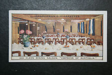 SS Empress of Australia   Canadian Pacific Liner    1930's Vintage Card VGC