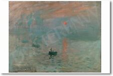 Claude Monet - Impression Sunrise 1872 - NEW French Fine Art Print POSTER