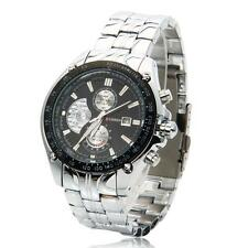 CURREN Men Fashion Calendar Waterproof Round Dial Digital Quartz Wrist Watch