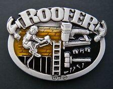 Roofer Belt Buckle Construction Worker Roofer Tools Equipment Boucle De Ceinture