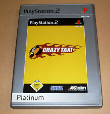 Playstation 2 Spiel - Crazy Taxi - Platinum - PS2 Game Deutsch komplett