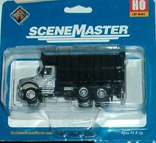 HO  International 7600 dual axle Coal dump truck  Walthers 949-11677 1:87