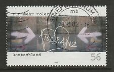 "Germany 2002 ""Tolerance"" SG 3088 FU"