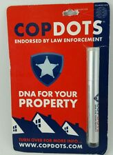CopDots Pen Marking System CD-1301, DNA For Your Property- Free Shipping - New