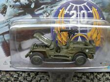 WWII WILLY'S MB SCOUT JEEP        2000 JOHNNY LIGHTNING LIGHTNING BRIGADE   1:64