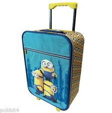 Les Minions valise à roulette sac bagage trolley 46 x 34 x 17 cm 345240