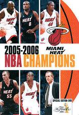 NBA Champions 2006: Miami Heat, New DVDs