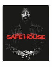 Safe House (Blu-ray and DVD Combo, 2012, 2-Disc Set)steelbook,new/sealed,
