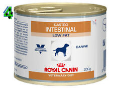 ROYAL CANIN 12 barattoli GASTRO INTESTINAL LOW FAT 200 gr umido per cane cani