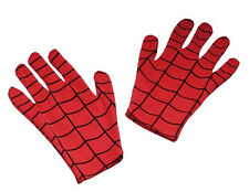Spider-Man Gloves Spiderman Superhero Dress Up Halloween Child Costume Accessory