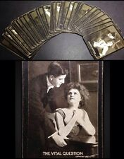 c1909 52/52 Antique Deck Kalamazoo Playing Cards Stylistic American Culture