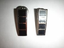 Lot Of 2 US Army CHIEF WARRANT OFFICER 4 (WO4) Metal Badges