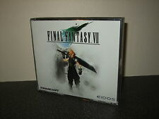 Final Fantasy VII 7 Seven FF7 FFVII - PC Game - Classic RPG With Manual Cloud