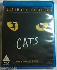 CATS Ultimate Edition BRAND NEW BLU-RAY Andrew Lloyd Webber Musical Elaine Paige