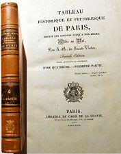 PARIS /TABLEAU HISTORIQUE ET PITTORESQUE/DE ST VICTOR/1827/TOME IV/LUXEMBOURG