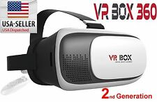 Google Cardboard 2nd Gen. VR Box Virtual Reality 3D Glasses Bluetooth Control