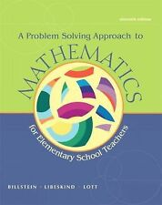 A Problem Solving Approach to Mathematics for Elementary School Teachers plus My