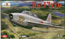 1:72 Amodel #7282 Yakovlev Yak-17UTI Soviet jet fighter *** Neuheit ***