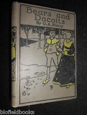 G A Henty - Bears and Dacoits - c1902 - Vintage Children's Short Stories/Fiction