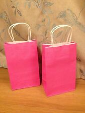 Luxury Paper Gift Bags/Party Bags Pink (1 Pack/10Bags)