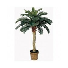 Silk Palm Tree Coconut Tropical Artificial Plants House Potted Fake Decor Office