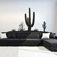 I108 Wall Decal Sticker Mexico cactus desert mirage Pesek nature landscape hot