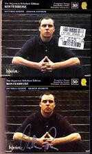 Matthias GOERNE Signed SCHUBERT Winterreise HYPERION CD Graham Johnson