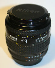 NIKON AF Nikkor 35-70 mm F-3,3-4,5 MKII Made in Japan w/ original caps