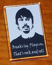 Dave Grohl Foo Fighters fridge magnet