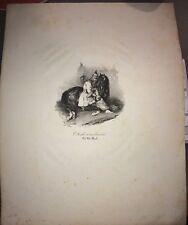 L'ARABE ET SON COURSIER d'après CHARLET vers 1830