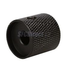 Black Coating Metal Guitar Dome Knob Control for Electric Guitar Quailty Part