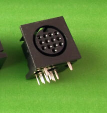 DIN 13 PIN AUDIO CAMERA VIDEO Socket ATARI Roland Midi PCB X 1 PC o dell' offerta