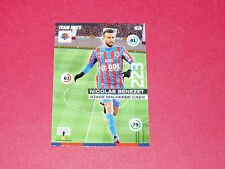 BENEZET STADE MALHERBE CAEN SMC FOOTBALL ADRENALYN CARD PANINI 2015-2016