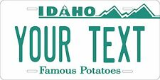 Idaho 1985 Plates Tag Personalized Auto Car Custom VEHICLE OR MOPED