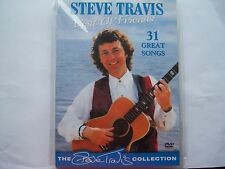 STEVE TRAVIS - BEST OF FRIENDS - NEW DVD