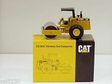 "Caterpillar CS563C Roller, ROPS - ""LAUNCH EDITION"" - 1/50 - NZG #401 - MIB"