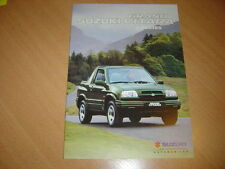 CATALOGUE Suzuki Grand Vitara 3 Portes de 2000