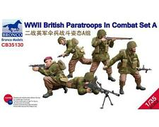 BRONCO CB35130 1/35 WWII BRITISH PARATROOPERS IN COMBAT SET A BNIB FREE UK P+P