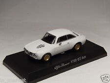 KYOSHO DIECAST CAR ALFA ROMEO COLLECTION 4 1750 GT Am WHITE 1/64 JAPAN