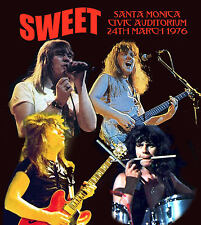 THE SWEET LIVE SANTA MONICA 1976 FEATURE DEEP PURPLE'S RICHIE BLACKMORE GUEST AP