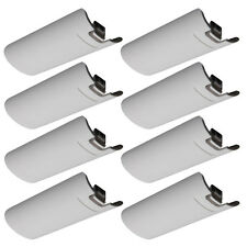 Lot20 Battery Back Door Cover for Nintendo Wii Remote Game Controller White