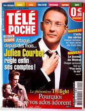 b)Télé poche 12/01/2009; Julien Courbet/ Twilight/ Journal du Mistral/ L'ENA