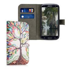 kwmobile Schutz Hülle für Samsung Galaxy S3 S3 Neo bunter Baum Kunstleder Hülle