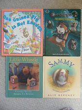 GUINEA PIG PICTURE BOOK HC LOT 4~Not Enough~Sammy~Little Whistle~G-Force~RYLANT~
