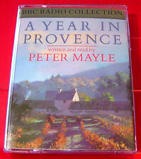 Peter Mayle Reads A Year In Provence BBC 2-Tape Audio Book France/Travel Biog