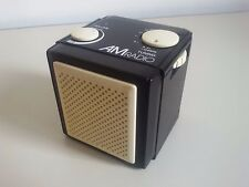 Mini RADIO Cubo AM Portatile CUBE Vintage TRANSISTOR portable RARE Collector