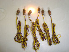 "LGB or Like Replacement Bulbs & Sockets for 3030 Light Fixtures With 18"" wires"