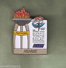 ARARAT  2000 OLYMPIC AMP TORCH RELAY PIN