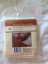 Non Slip Grip Rug Carpet Floor Pad Underlay 18 x 28 Inches Brand New